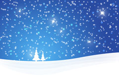 Christmas winter scene background Royalty Free Stock Photography