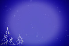 Christmas winter scene Stock Photography
