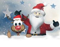Christmas Winter Snow Festive Royalty Free Stock Photography