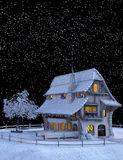Christmas, Winter, Snow, Snowflakes Royalty Free Stock Photography