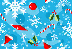 Christmas winter style elements background Stock Photography