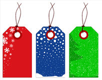 Christmas Winter Tags Stock Image