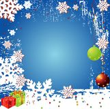Christmas Winter Vector Backgr. Ound Design Royalty Free Stock Images
