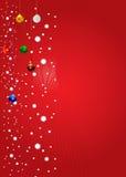 Christmas Winter Vector Backgr. Ound Design Royalty Free Stock Photos