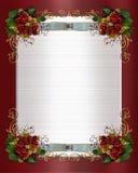 Christmas or winter wedding border royalty free stock photography