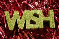 Christmas Wish Stock Photo