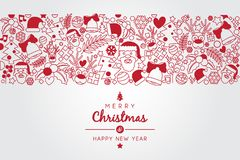 Christmas Wish with christmas illustration ornament stock illustration