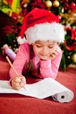 Christmas wish list Stock Image