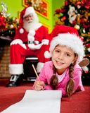 Christmas wish list Royalty Free Stock Photo