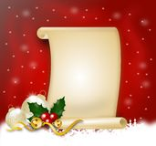Christmas wish list Stock Photo