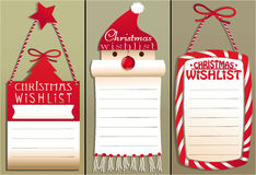 Christmas wish list Royalty Free Stock Photography