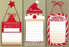 Christmas wish list Royalty Free Stock Photography