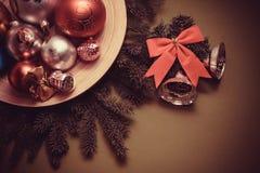 Christmas wish postcard Stock Images
