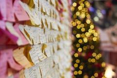 Christmas wish Royalty Free Stock Photography