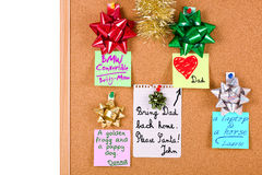 Christmas wishes... Royalty Free Stock Photography