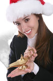 Christmas Wishes Stock Photo