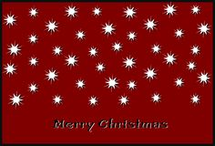 Christmas wishes Stock Image