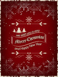 Christmas wishes background, design for your greeting card. Illustration Stock Photos