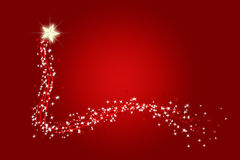 Christmas wishing twinkle star Stock Photo