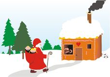 Christmas of the Witch. Christmas drawing - for withces (Corel Stock Photo