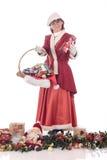 Christmas Woman Royalty Free Stock Image