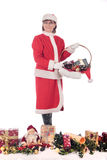 Christmas Woman Royalty Free Stock Images