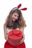 Christmas Woman Royalty Free Stock Photo