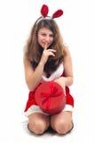 Christmas Woman Royalty Free Stock Photos