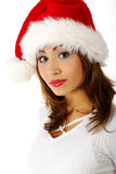 Christmas woman Stock Photo