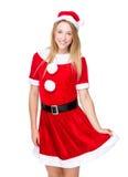 Christmas woman Stock Photography