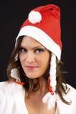 Christmas woman Stock Image