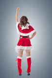 Christmas woman relax Royalty Free Stock Photos