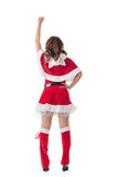 Christmas woman relax Royalty Free Stock Photo