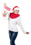 Christmas women Stock Photos