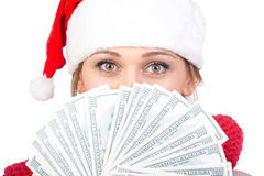 Christmas women royalty free stock photo