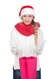 Christmas women Stock Images