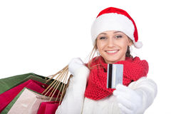 Christmas women Royalty Free Stock Photography