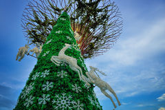 Christmas Wonderland at Gardens by the Bay Royalty Free Stock Photography
