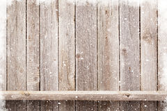 Christmas wooden background Royalty Free Stock Photo