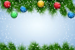 Christmas wooden background Royalty Free Stock Images