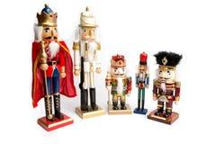 Christmas Wooden Nutcracker Royalty Free Stock Image
