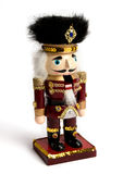 Christmas Wooden Nutcracker Royalty Free Stock Image