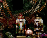 Christmas Wooden Nutcrackers Stock Photos