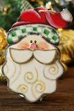 Christmas wooden toys for the Christmas tree. toy of santa claus Stock Images