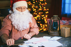 Christmas work Royalty Free Stock Images