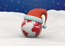Christmas World - 3d Royalty Free Stock Photos