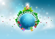 Christmas World stock illustration