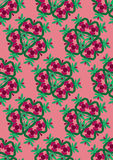 Christmas wrap paper royalty free illustration