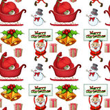 Christmas wrapper Stock Images