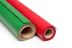 Christmas wrapping Stock Photos
